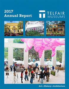 Cover of Telfair Museums' 2017 Annual Report