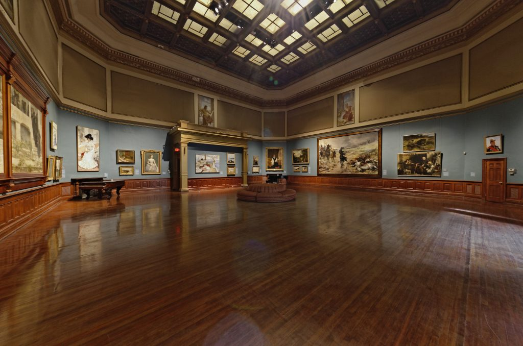 Rotunda Gallery at Telfair Academy in Savannah
