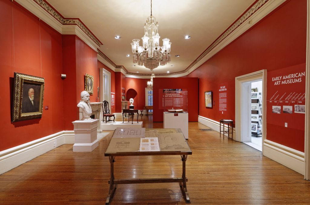Mansion to Museum drawing room at Telfair Academy in Savannah