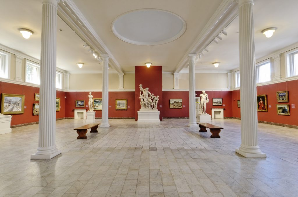 Sculpture Gallery at Telfair Academy in Savannah