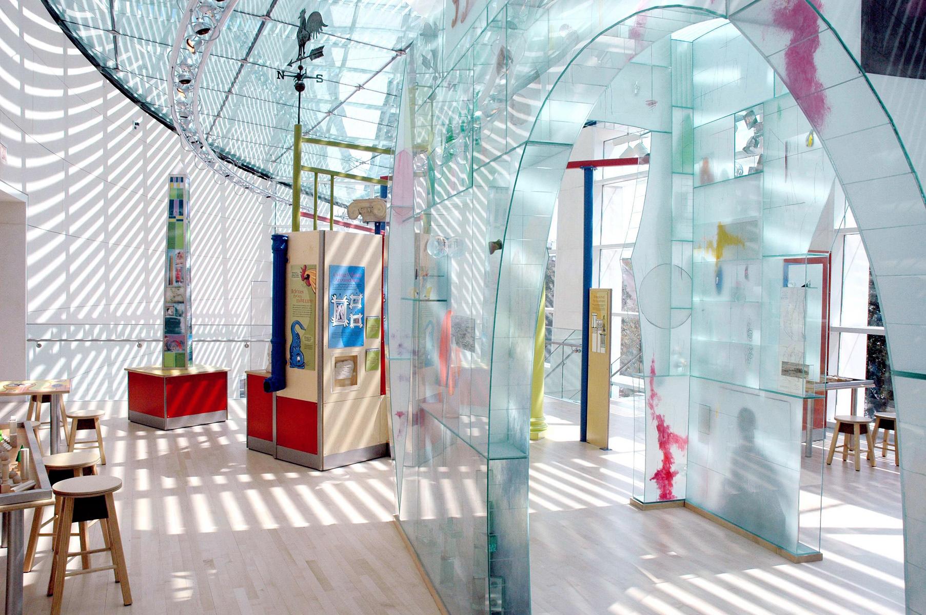 ArtZeum is a fun, family-friendly activity inside the Jepson Center.