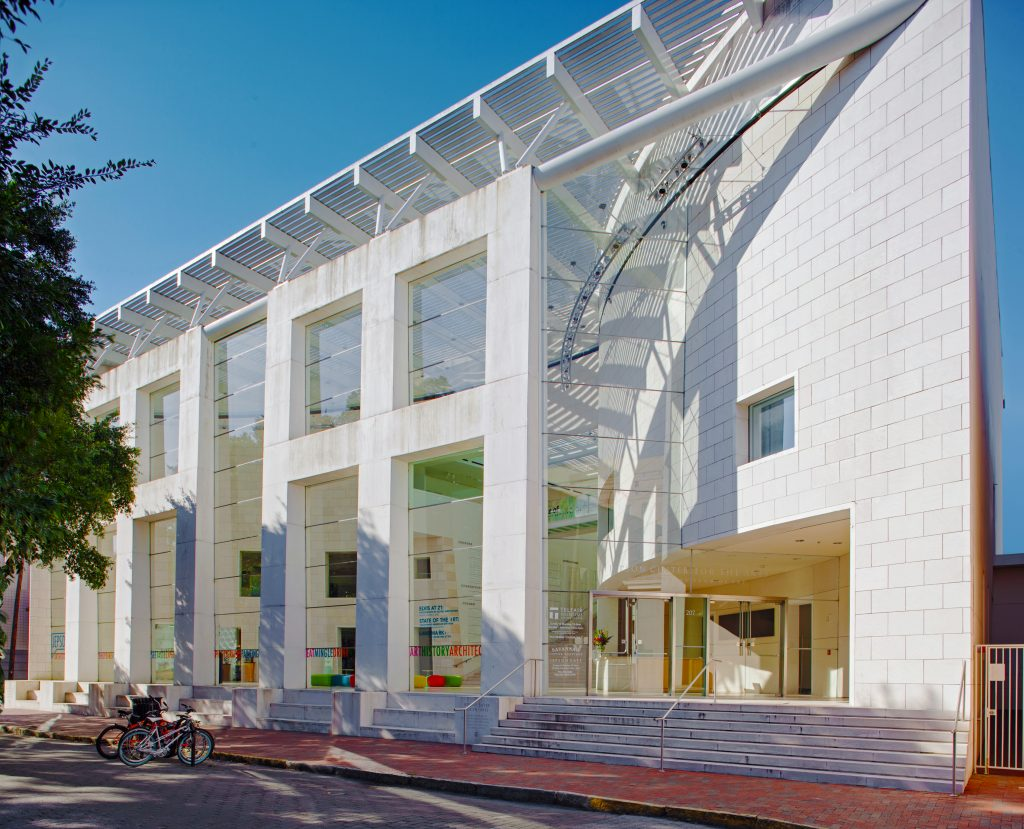 Street view of Telfair Museums' Jepson Center in Savannah, GA