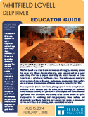 "Cover of ""Whitfield Lovell: Deep River"" Educator Guide"