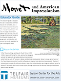 "Cover of ""Monet and American Impressionism"" Educator Guide"