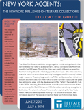 "Cover of ""New York Accents"" Educator Guide"