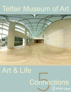 "Cover of ""Art & Life: 5 Connections"" Educator Guide"