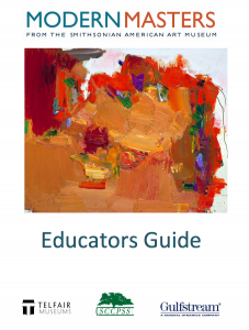 "Cover of ""Modern Masters"" Educator Guide"