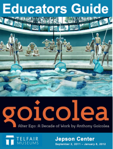 "Cover of ""Goicolea"" Educator Guide"