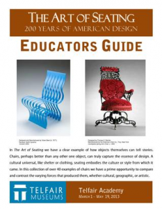 "Cover of ""The Art of Seating"" Educator Guide"