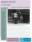 "Cover of ""Helen Levitt: In the Street"" Educator Guide"
