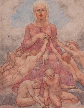 Kahlil Gibran And The Feminine Divine Telfair Museums