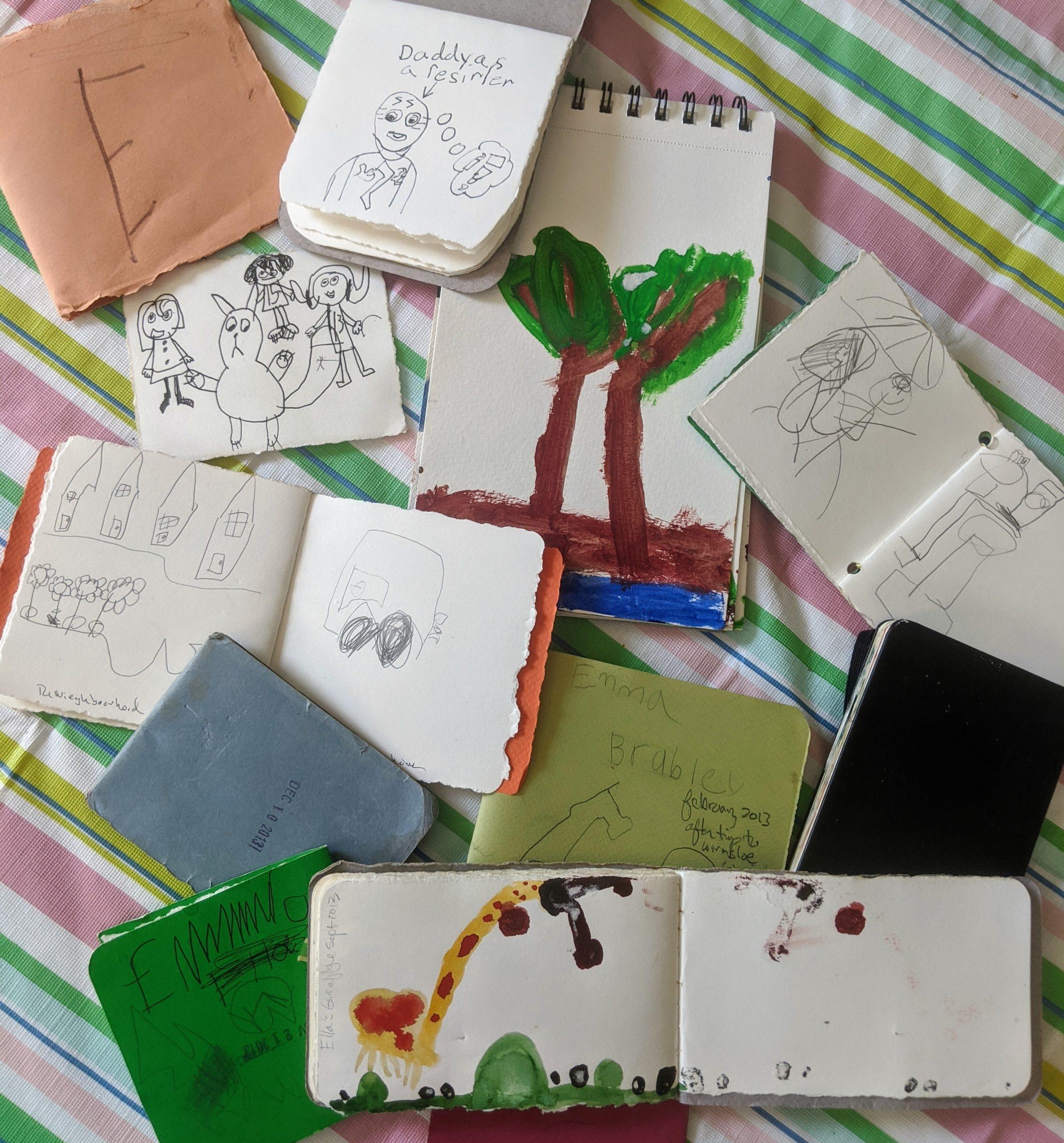 Sketchbooking for kids